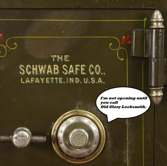 Old Glory Locksmith Open Combination Safe.jpg
