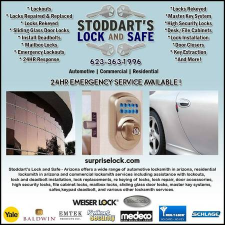 Stoddart's Lock and Safe